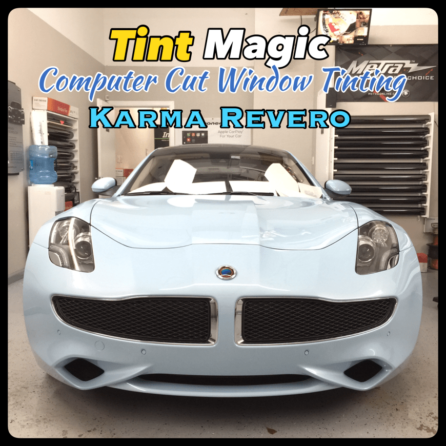 Karma Revero Window Tint at Tint Magic Window Tinting Coral Springs