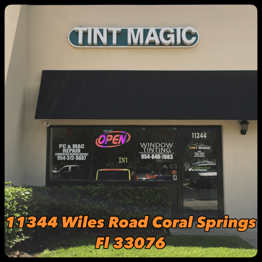 Tint Magic Car Window Tint Coral Springs