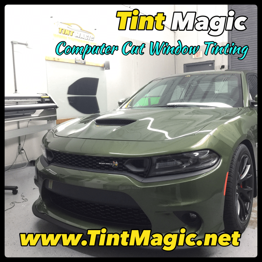 Dodge Charger 2020 at Tint Magic Window Tinting Coral Springs