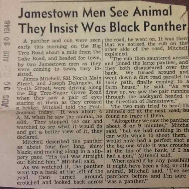 Jamestown Post Journal August 30 ,1946