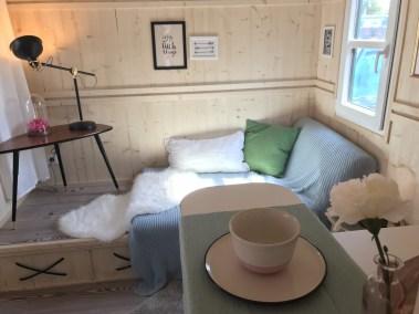 Tiny House II Küche und Bett