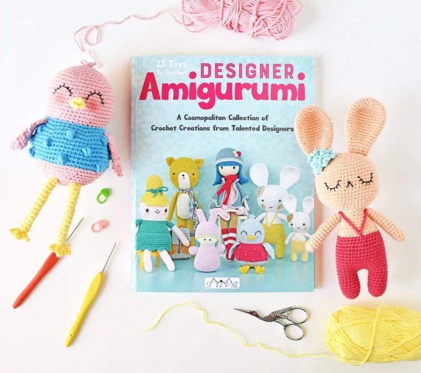 Designer Amigurumi Crochet Book Review Tiny Curl Crochet