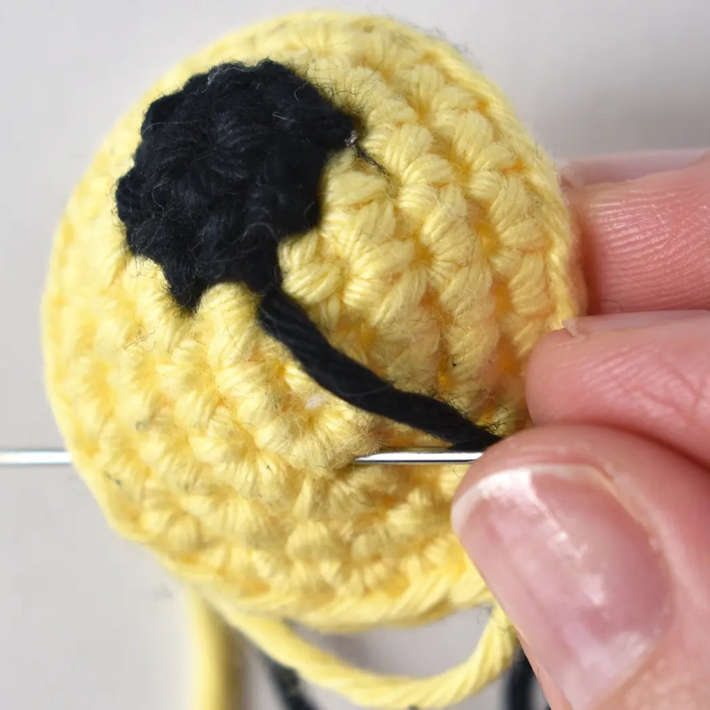 nose shaping for amigurumi crochet doll face | Ganchillo amigurumi ... | 1024x1024