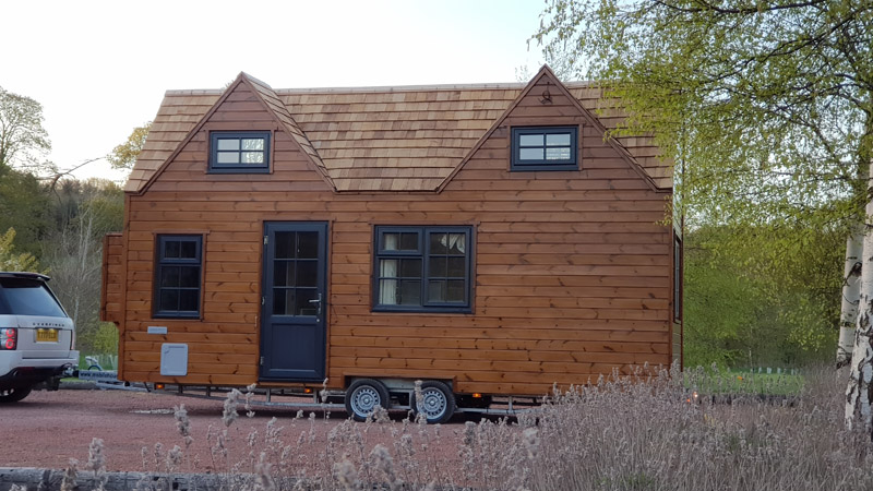 Tiny Home Example Eco Friendly Fully Mobile Tiny Home