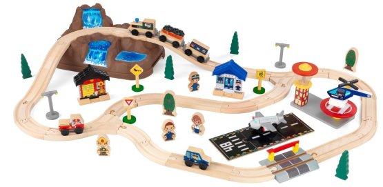 Mountain train set