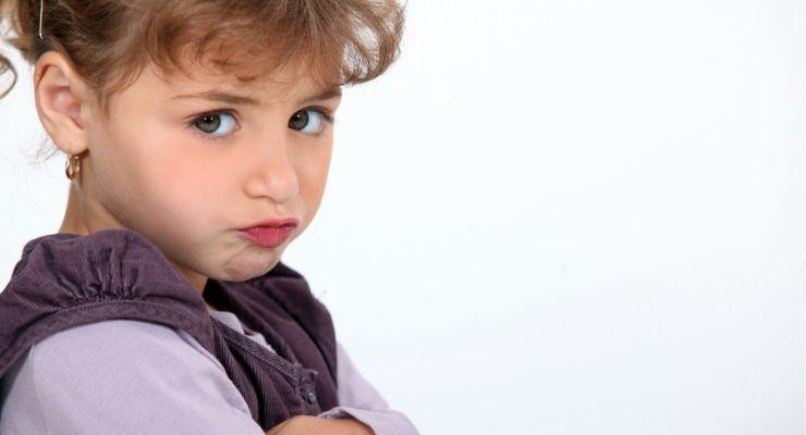 Unhappy kid