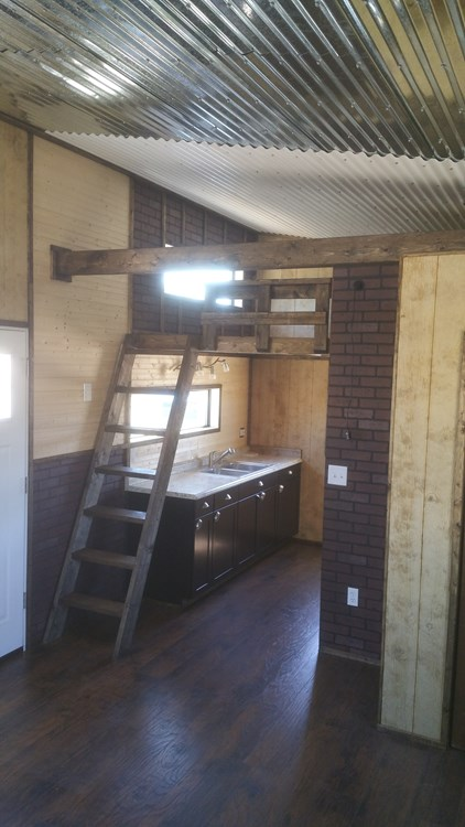 Tiny House Interior Paneling