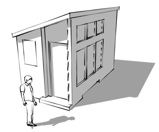 8 16 free tiny house plans Tiny house floor plans 8 x 16