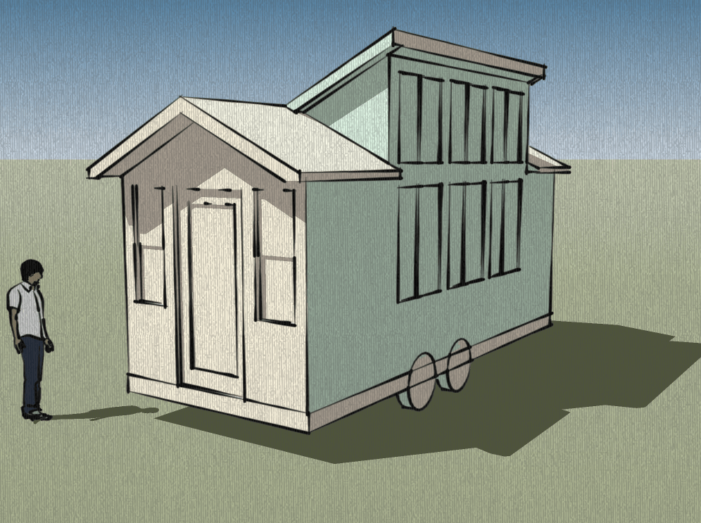 Which tiny house plans should i draw next for Small solar house plans