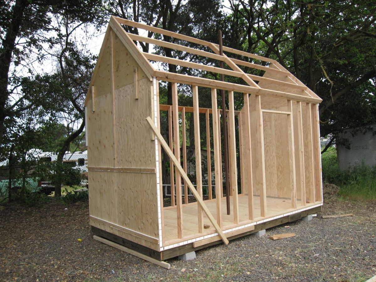 the sonoma shanty workshops kits plans tiny houses. Black Bedroom Furniture Sets. Home Design Ideas