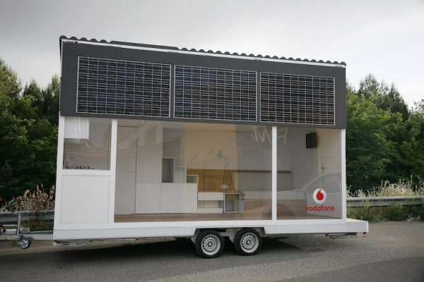 La Casa Móvil Vodafone tiny house exterior