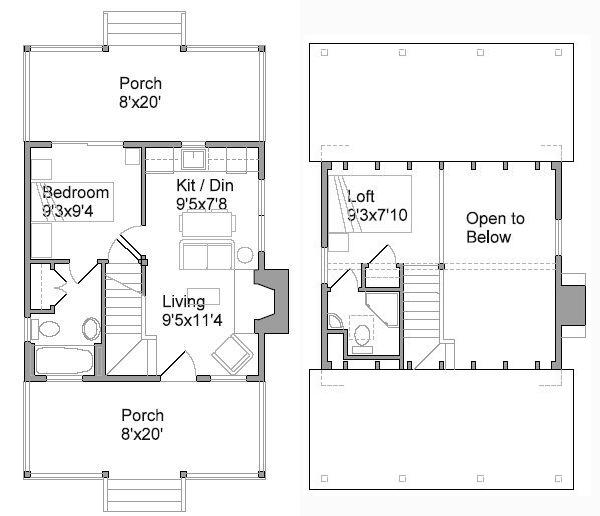 sheldon designs tiny house  Design A House