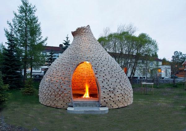fireplace shelter