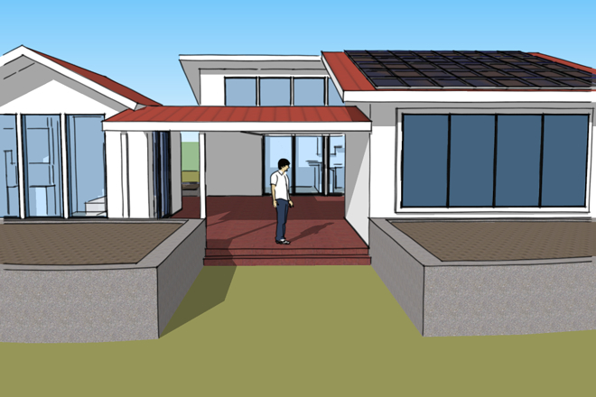 Vote now free green who s next competition for Small house design competition