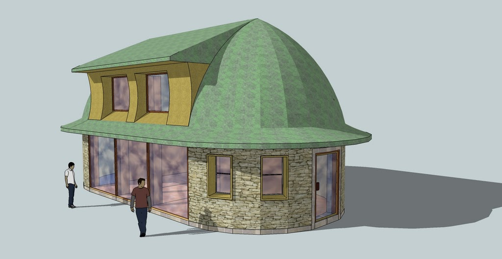 Tiny Home Designs: Foam Dome Home By Craig