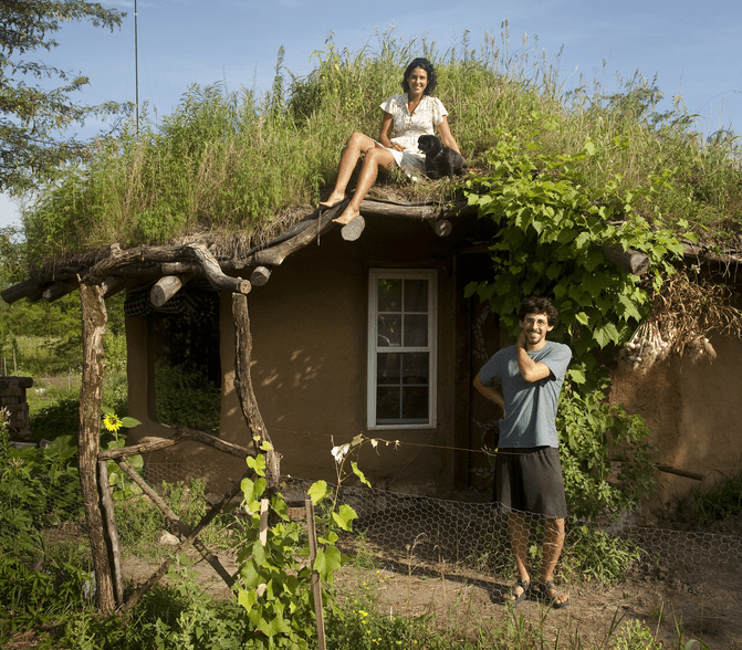The year of mud building a cob house by brian ziggy liloia for Mud house design