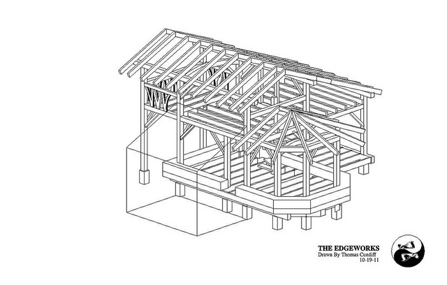 Free small house plans timber frame straw bale house for Straw bale home plans
