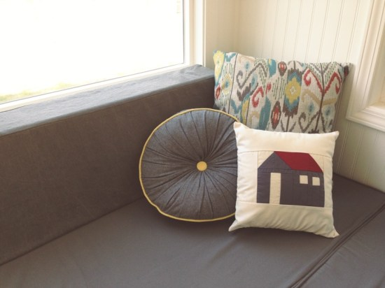 Almost Glamping - tiny house pillows