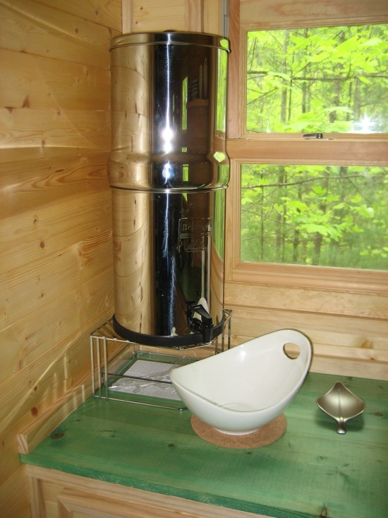 Life in 120 - Berkey Water and Sink