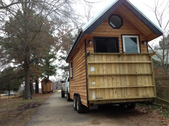 Mendy's Tiny House - On the Road