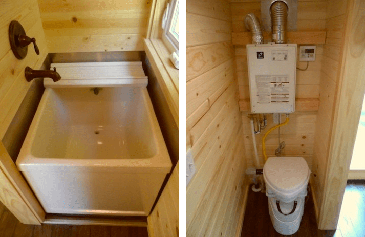 tiny house bathrooms. perfect keva tiny house salt spring island
