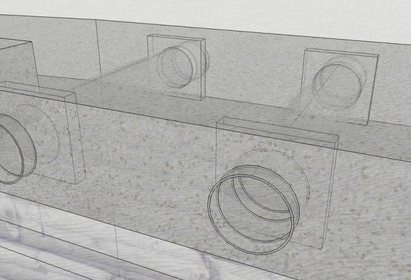 Spiral Shelter - Clerestory Detail