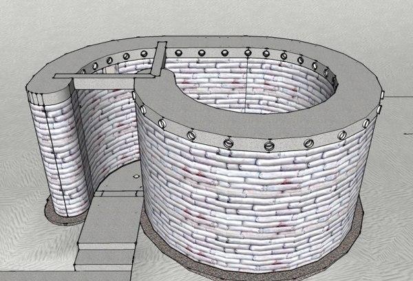 Spiral Shelter - Step 3