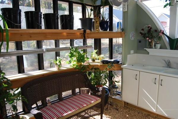 Jeffs Cabin Greenhouse - Interior 2