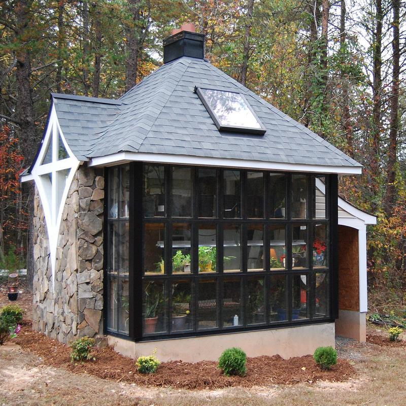 Jeff S Cabin Greenhouse