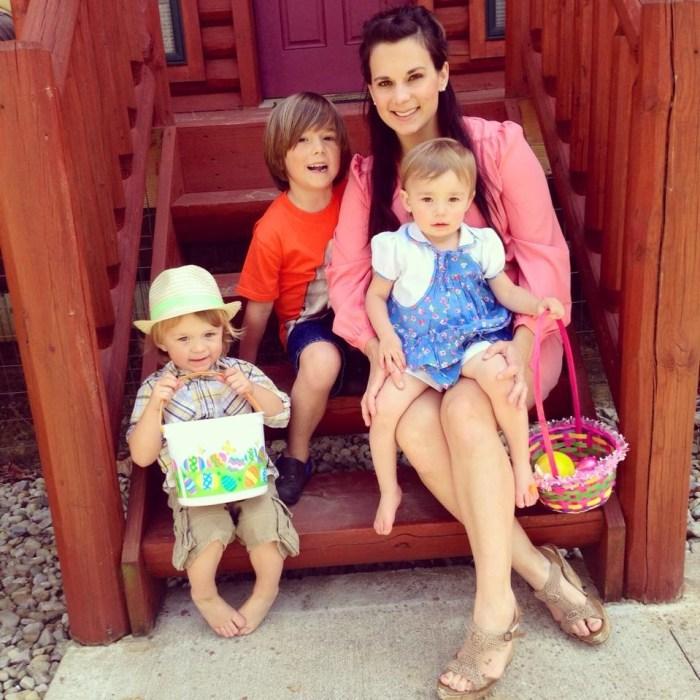 Family Builds Off-Grid Lakeside Cabin Near Columbus, Ohio - Kelley's Family Portrait