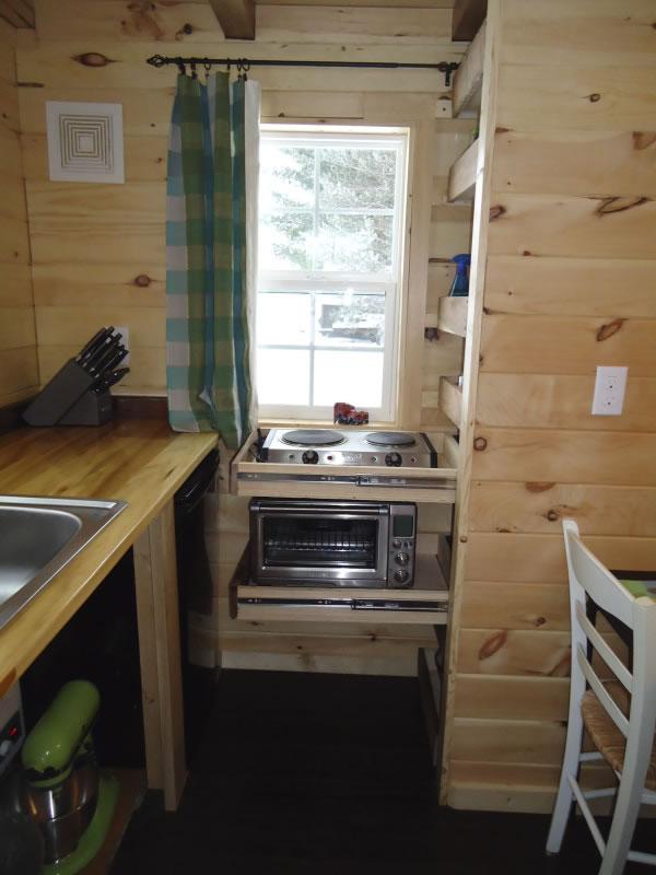 Sunny Side Kitchen-Brevard Tiny House Company
