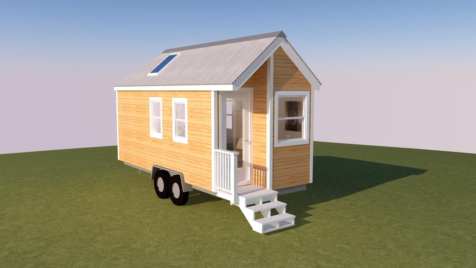 Caspar 20 tiny house plans for Small house design on wheels