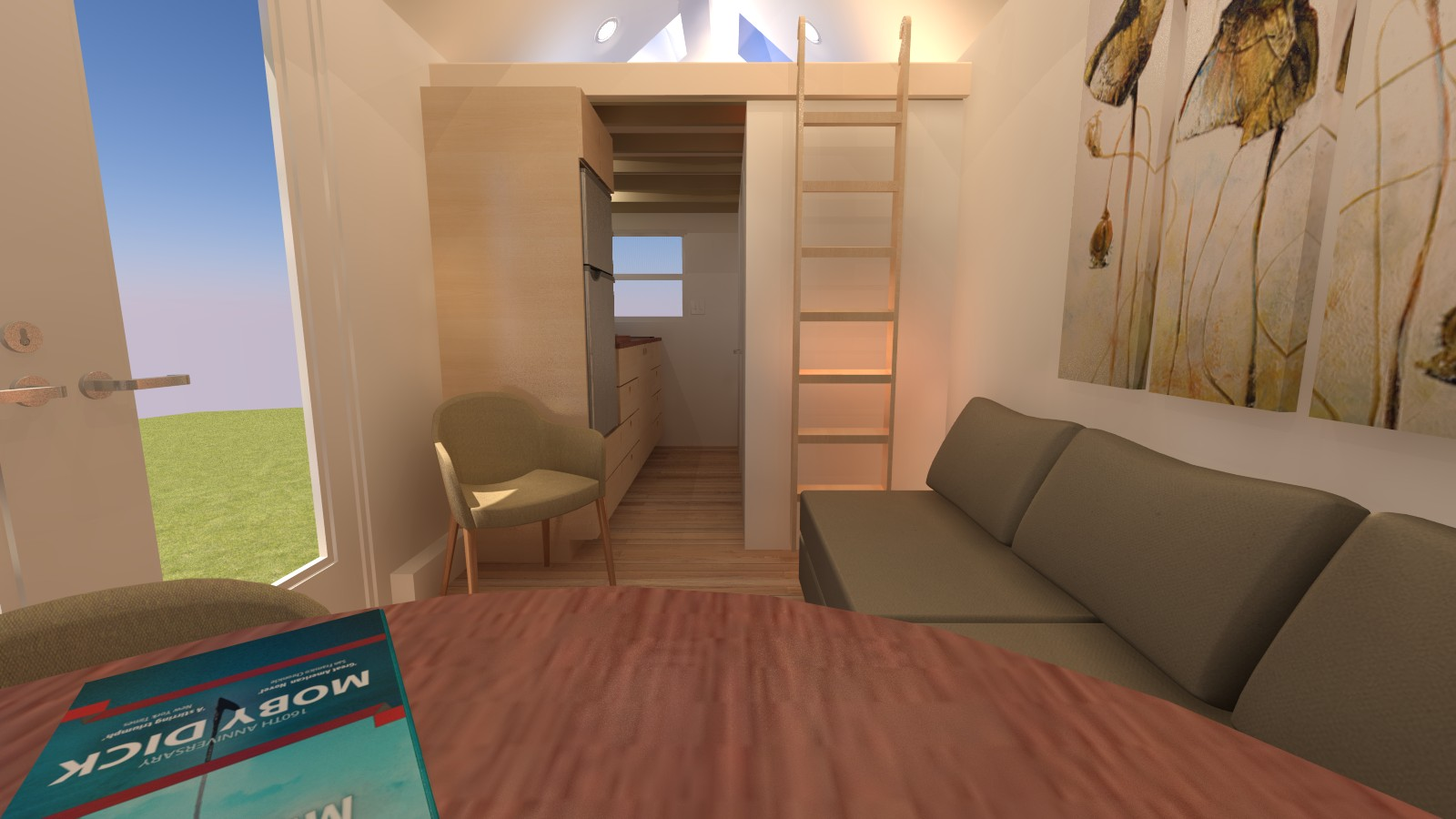 Cleone 16 Tiny House Interior