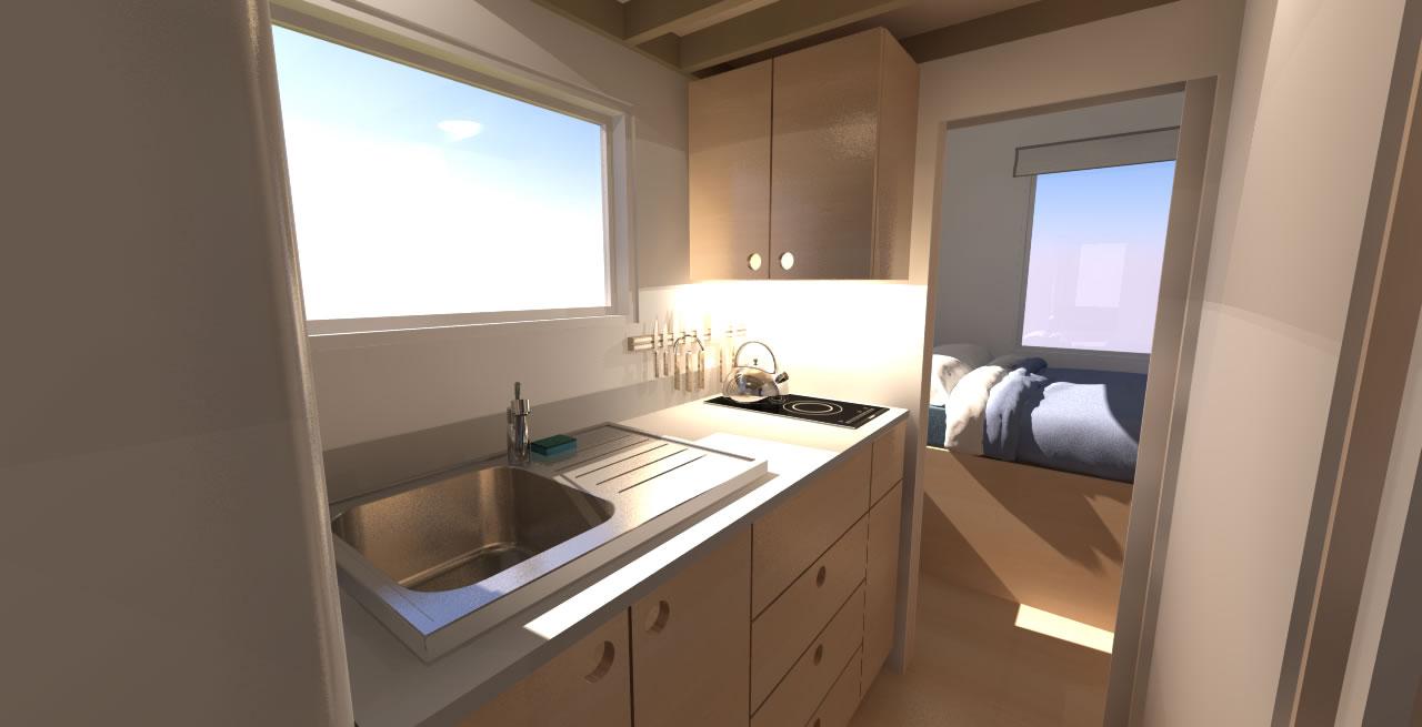 Leggett 24 Interior Kitchen