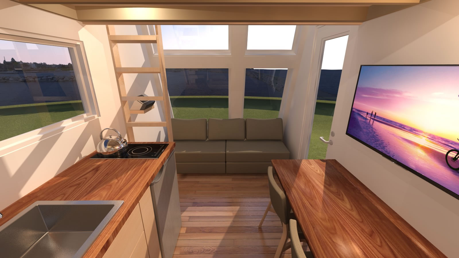 Introducing The Anchor Bay 16 Tiny House Plans Tiny