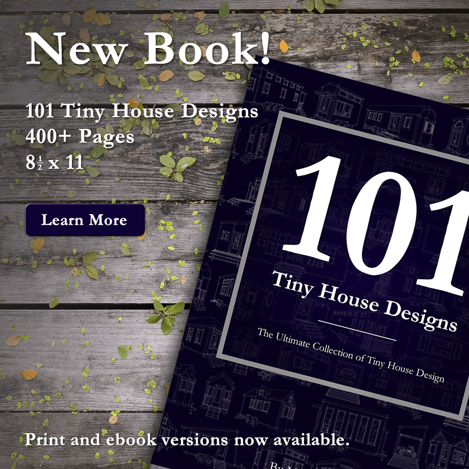 House Design 101: New Book! 101 Tiny House Designs