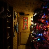 A Cold Winter's Night in the Tiny House