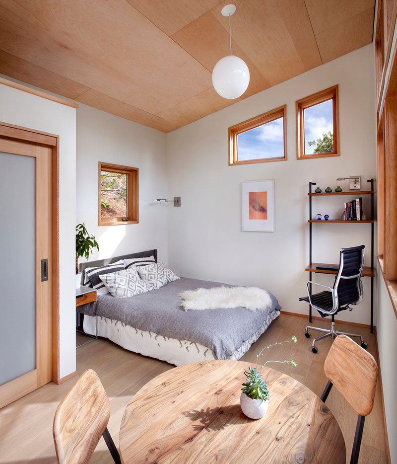 Bed Alcove - Compact Guest House by Avava Systems