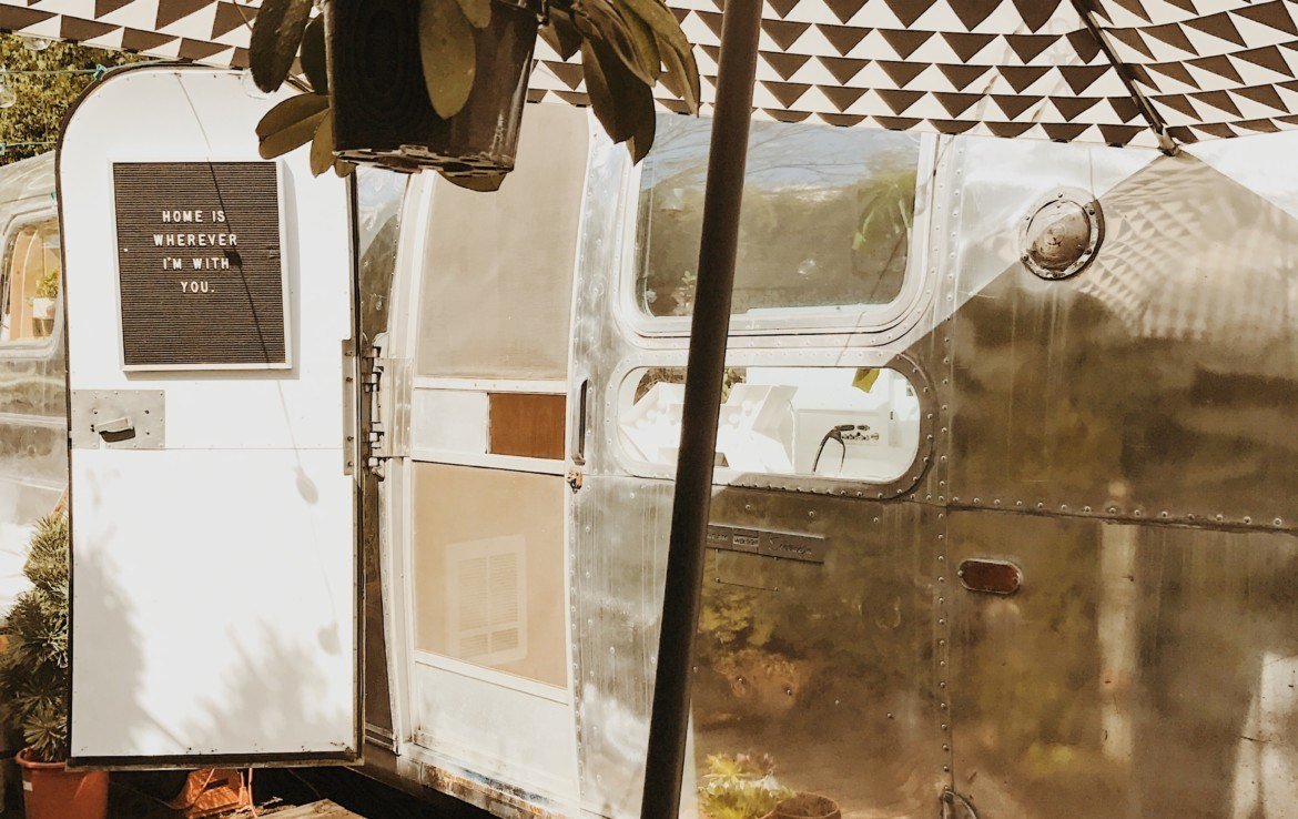 Entry - Fully Renovated 1971 Airstream Sovereign