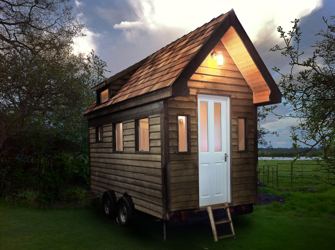 Images Of Tiny Houses Custom Built For Clients In The UK