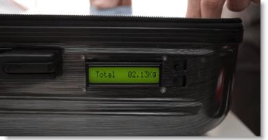 valise intelligente - poids