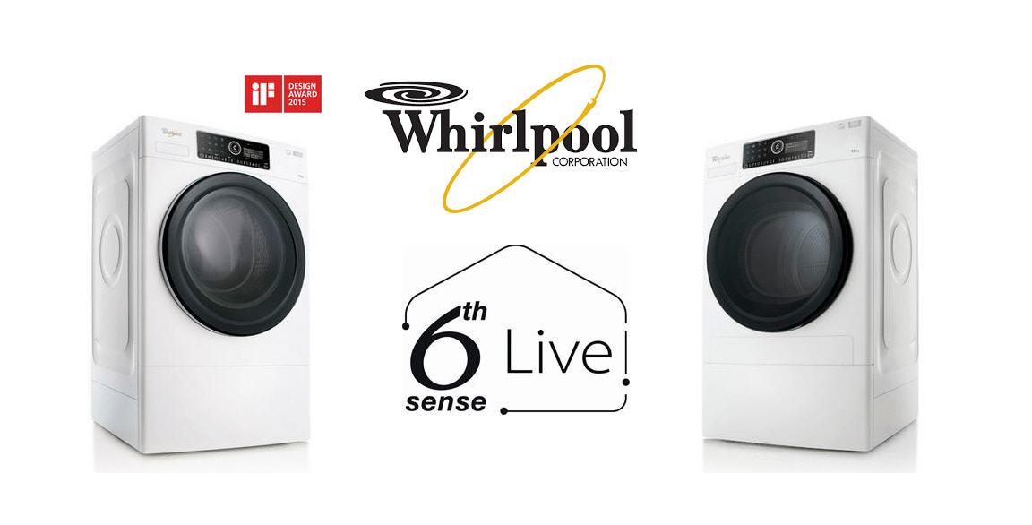 whirlpool se lance dans l 39 lectrom nager connect. Black Bedroom Furniture Sets. Home Design Ideas