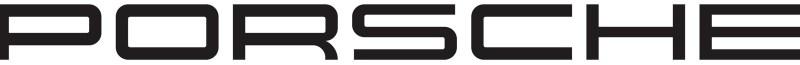 porsche logo lettre