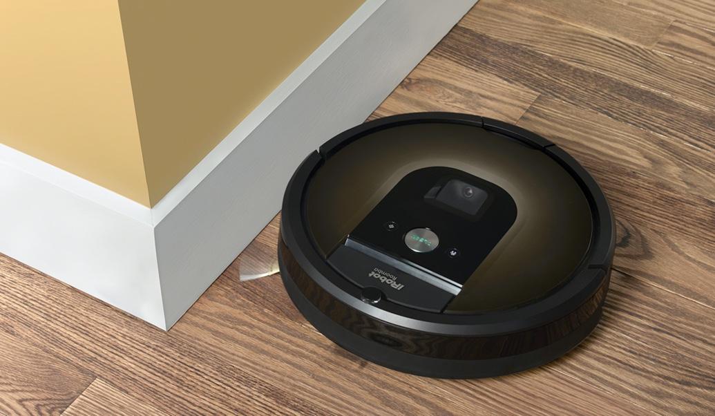irobot 980 l 39 aspirateur robot connect tinynews. Black Bedroom Furniture Sets. Home Design Ideas