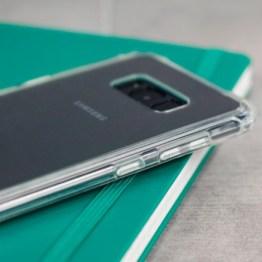 Coque Samsung Galaxy S8 Olixar ExoShield Snap-on – Transparente