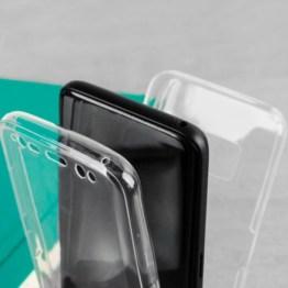 Coque Samsung Galaxy S8 Olixar FlexiCover en gel – Transparente