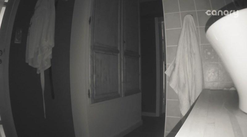 Vue de nuit, à l'intérieur