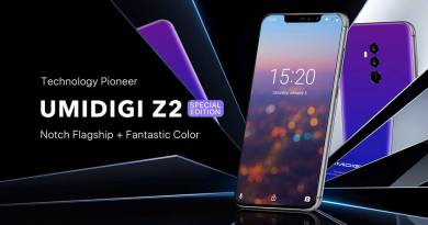 Umidigi Z2- Edition spécial «Twilight» dans sa version 4Go/64Go est disponible en vente flash au prix de 172,40€