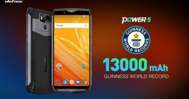 Ulefone power 5- Ce smartphone qui en a une très grosse est disponible en vente flash pour 224€