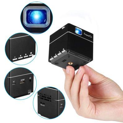 ExquizOn-Mini-Vidéoprojecteur-HD-S6-Projecteur-DLP-1080P